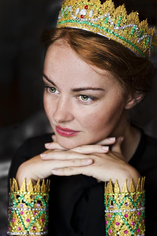 корона, ободок для волос