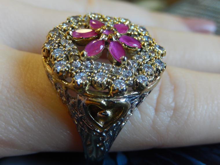аукцион с нуля, аукцион на украшения, перстень, кольцо с камнем, восточный шик, подарок женщине, дешево, халцедон, красивые украшения