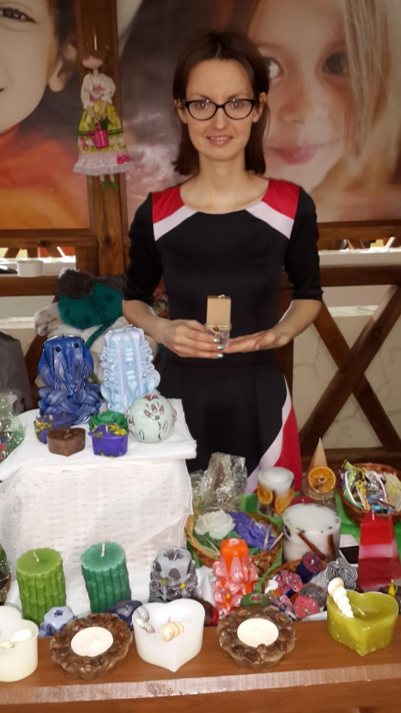 свечи ручной работы, екатерина березина, творческий путь, производство свечей
