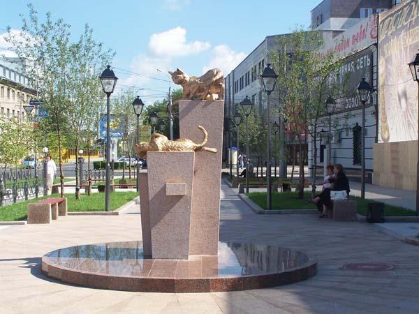 Памятники кошкам блокадного Ленинграда., фото № 6
