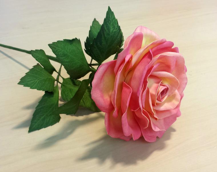 роза, мастер-класс, мастер-класс по фоамирану