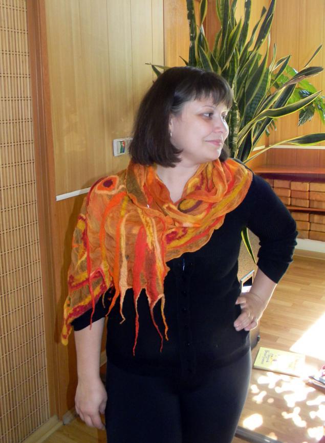 красивый шарф