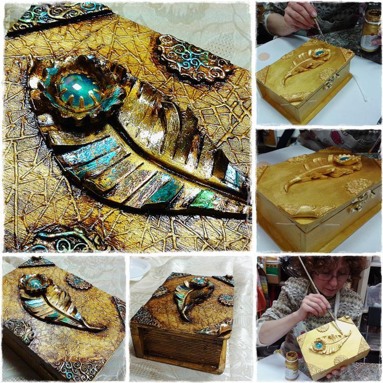 школа декупажа, декорирование handmade