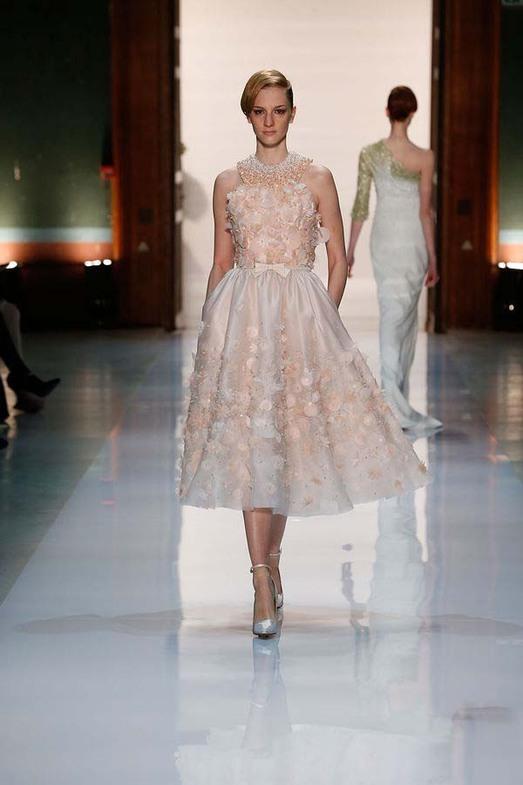Georges Hobeika Haute Couture весна-лето 2014, фото № 17