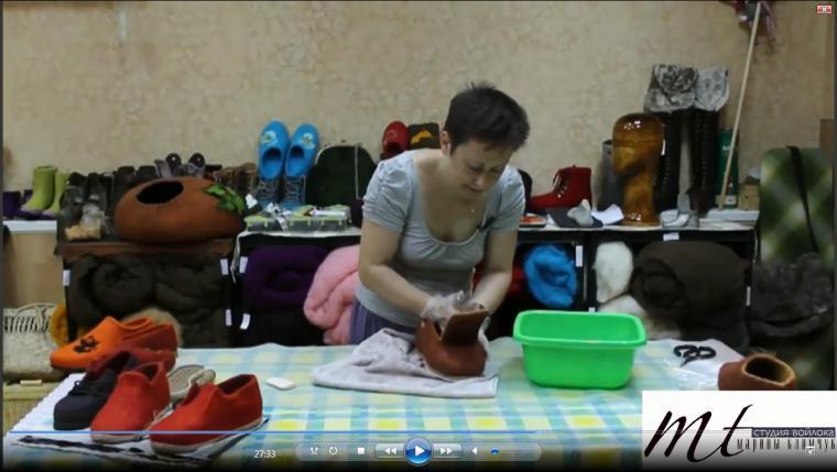 """Видео мастер-класс Марины Климчук """"Туфли"""""""