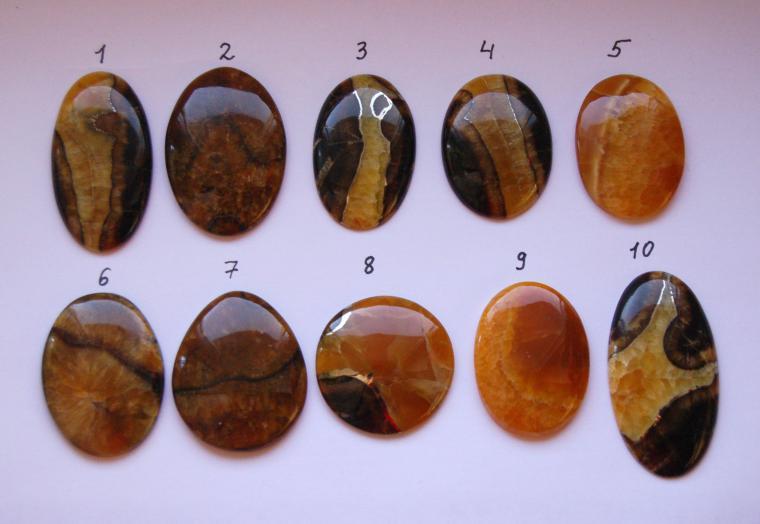 натуральные камни, спилы агата