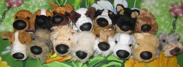 мягкике игрушки собачки