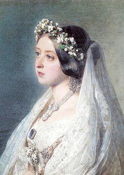 королева виктория, английская мода