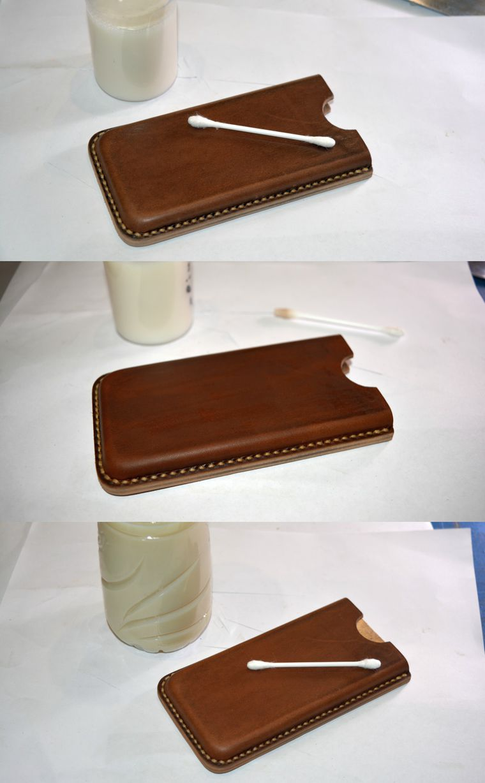 Чехол для телефона из бересты