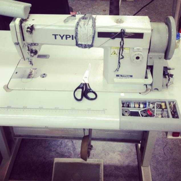мастерская, швейная машинка