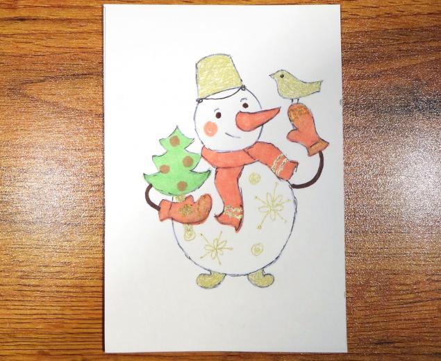 День рождения, нарисовать детскую открытку своими руками