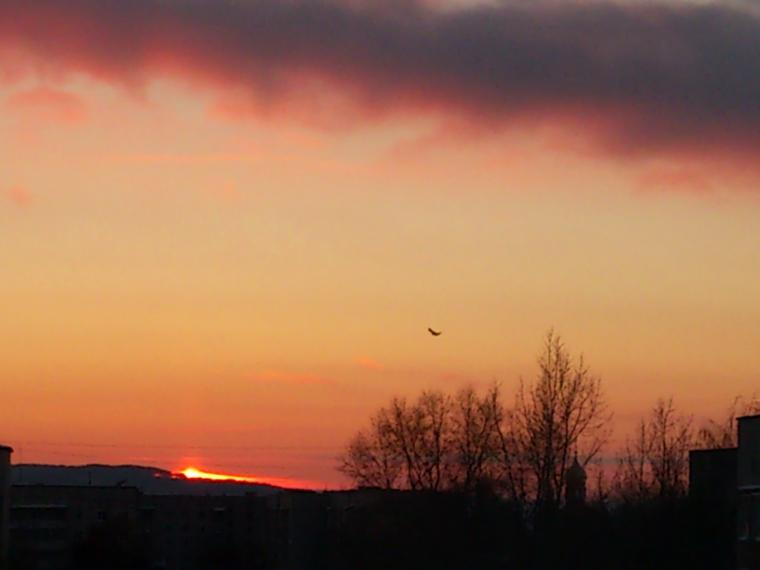 зима 2015, новый год 2015, мастер ангелина, небо, закат, зима