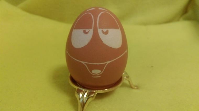 яйцо, резьба, резное яйцо, авторская работа, сувениры, смайл