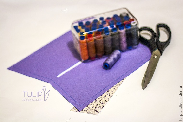 Sewing a Pretty Spring Vanity-Case of Felt and Fabric, фото № 4