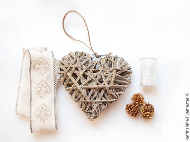новогоднее украшение, сердце