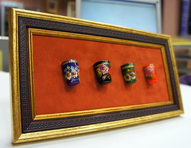 рамка для коллекций, коллекции, ультрамарин