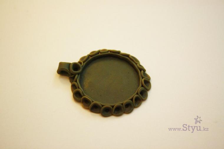 авторское серебро, для девушки, оправа