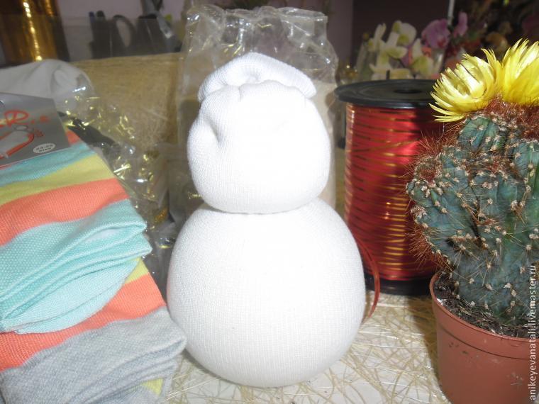 рисовые снеговички
