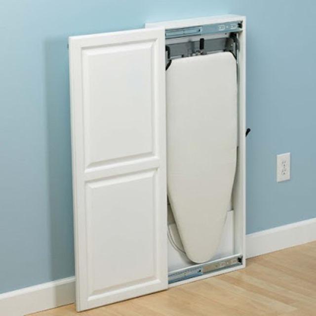 Сделать шкаф для гладильной доски - Моя Однушка: Встроенный шкаф Идеи для ремонта