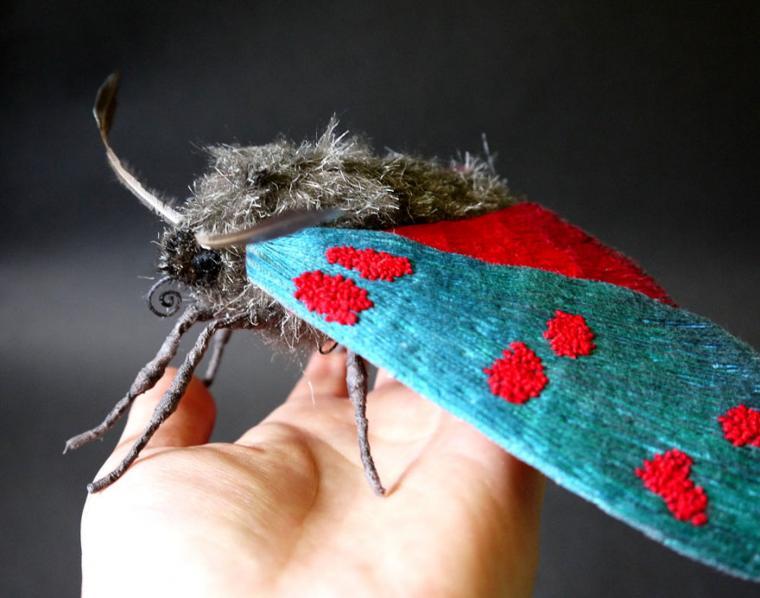 Текстильные шедевры, или Бабочки как источник вдохновения, фото № 23