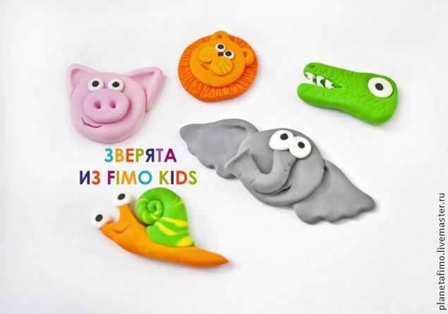 фимо, фимо кидс, видео, видео-урок, лепка из пластики, урок лепки, лепим с детьми, детское творчество, домашний досуг