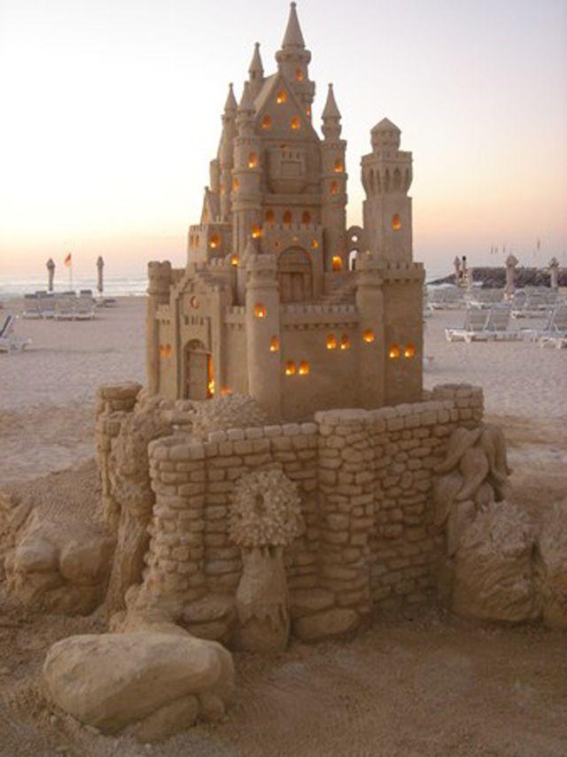 Картинки с песочными замками
