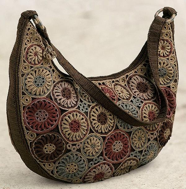 6115875587b9 Вязаные сумки: богатство фантазии дизайнеров – Ярмарка Мастеров