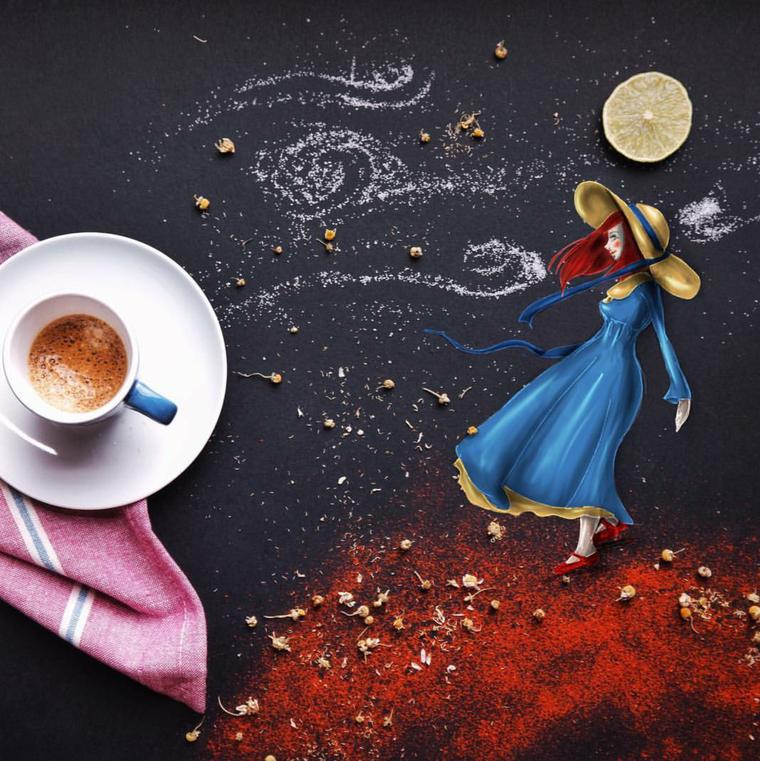кофе открытка креатив способ точно пропустить