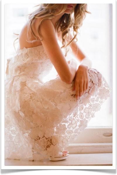 Ты в белом платье в кружевах