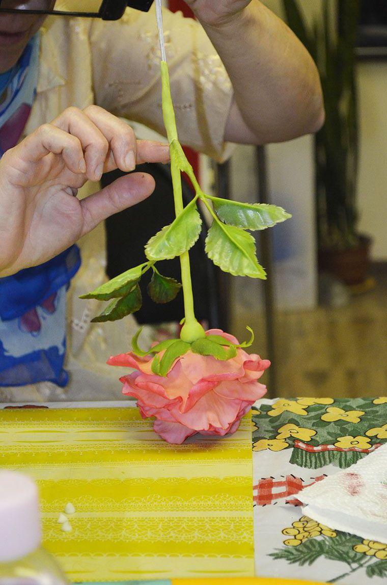 мастер класс по лепке, цветы в жуковском