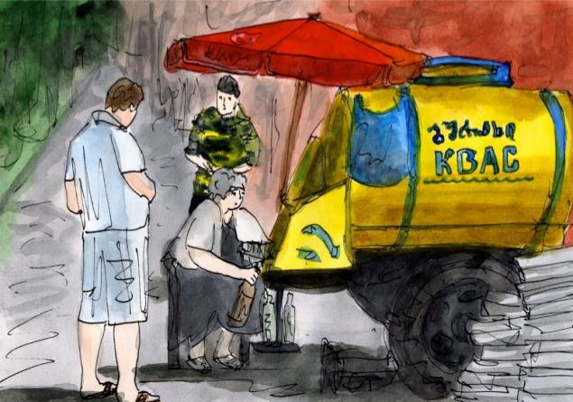 Путешествуем с Михаилом Щербаковым (Vokabre): быстрые зарисовки акварелью, фото № 9