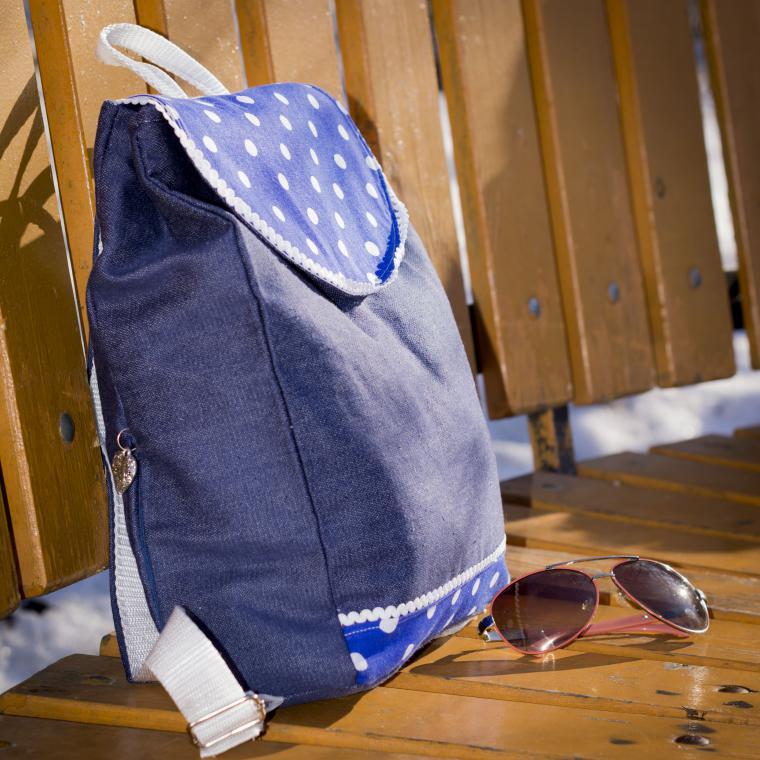 рюкзак на заказ, городской рюкзак, джинсовый стиль