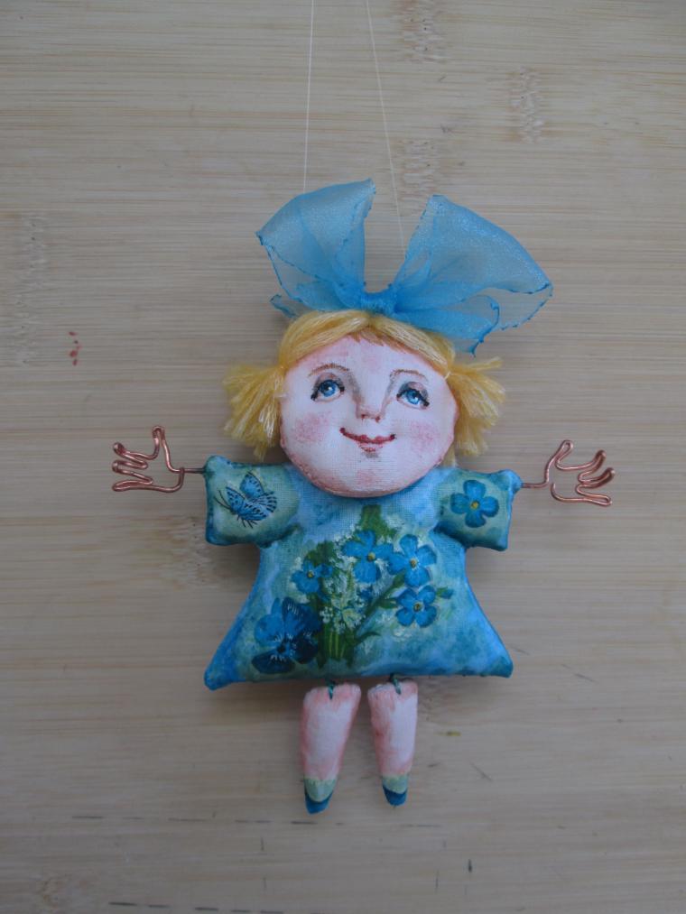 Кукла Из Паперклея Мастер Класс