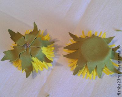 Одуванчики из фоамирана, фото № 18