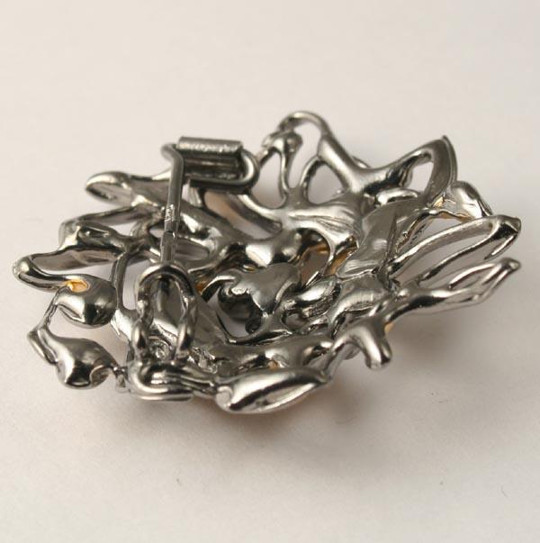аукцион сегодня, аукцион на брошь, серебро 925, рутений