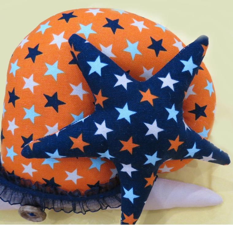 звезда тильда, декор для детской