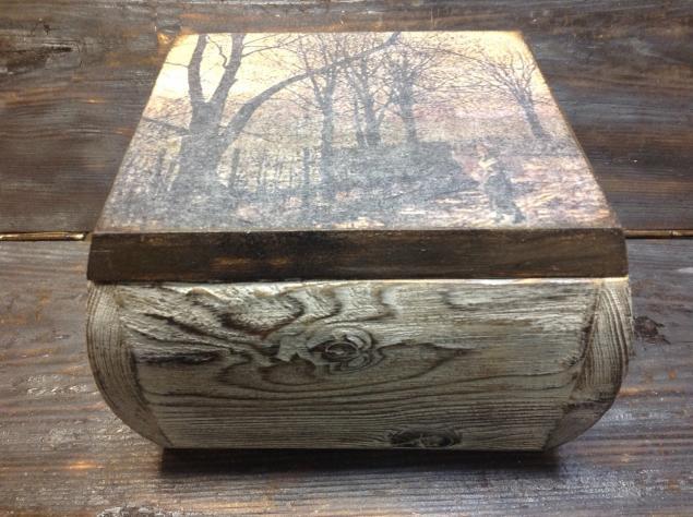 Браширование древесины своими руками декупаж
