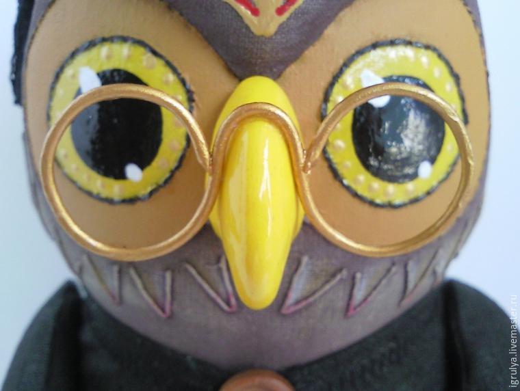 393Текстильная игрушка сова своими руками