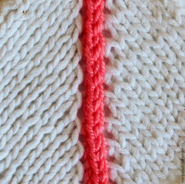 267Как связать свитер спицами регланом сверху