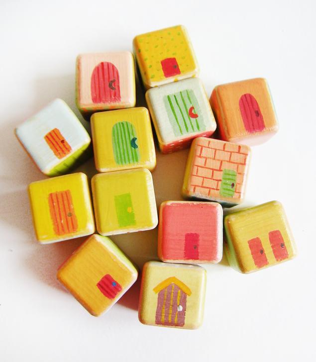 кубики детские