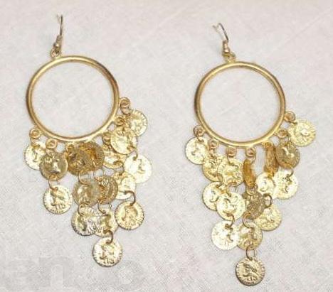 золотые серьги, ювелирные изделия