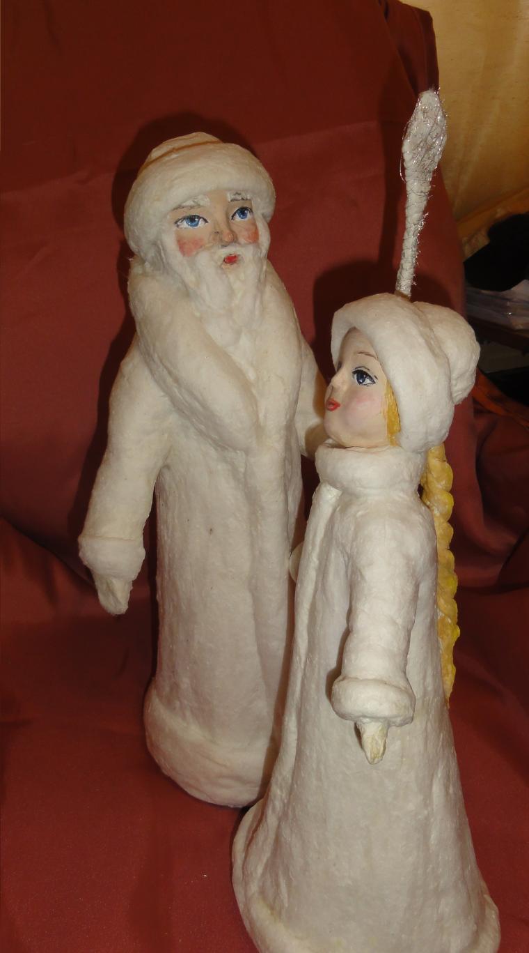новый год 2015, дед мороз, снегурочка, подарок на новый год