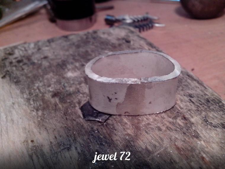 Делаем стильное кольцо из серебра, фото № 10