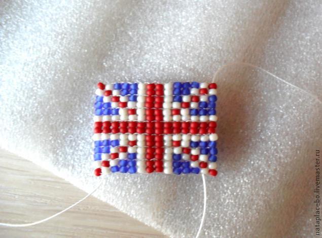 Как сделать британский флаг серьги фото 83