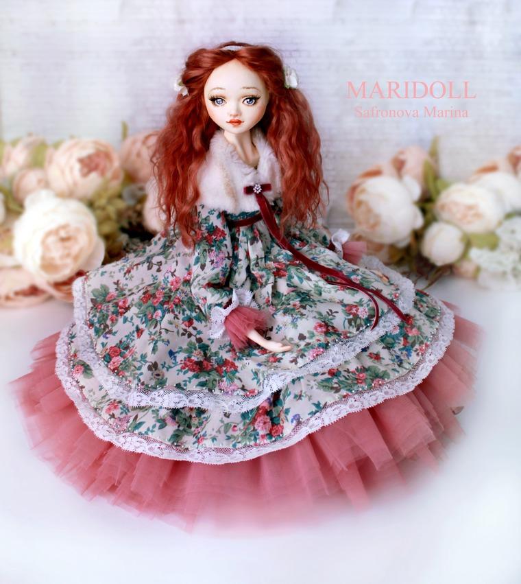 нежная шикарная кукла