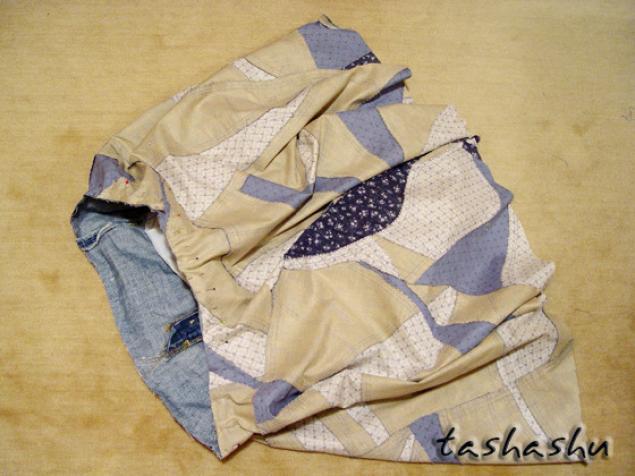 кривое лоскутное шитье