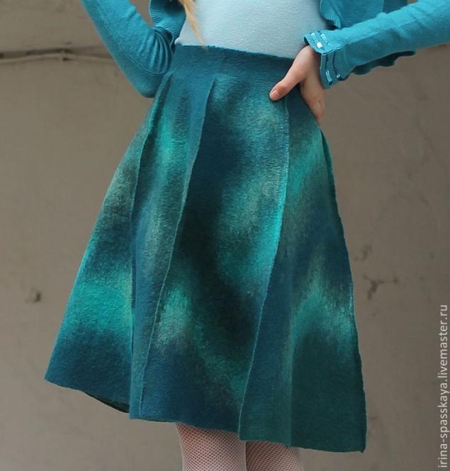 юбка с ребрами