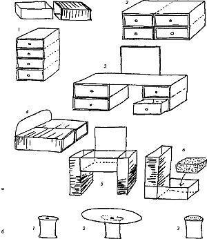 Домик для куклы своими руками из одной коробки 37