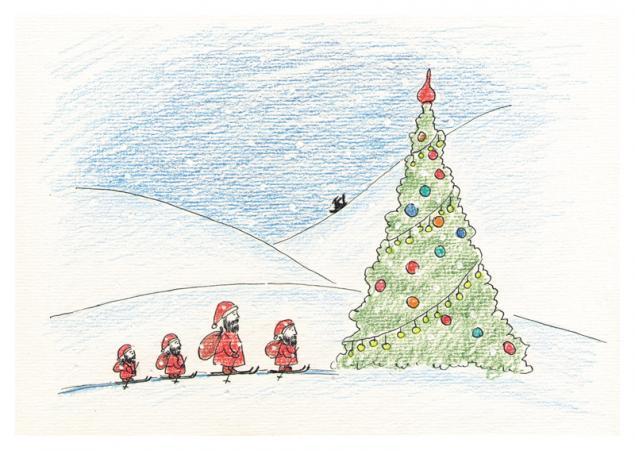 открытки, новый год, розыгрыш, авторские открытки, открытки в подарок, новогодняя открытка, конфетка