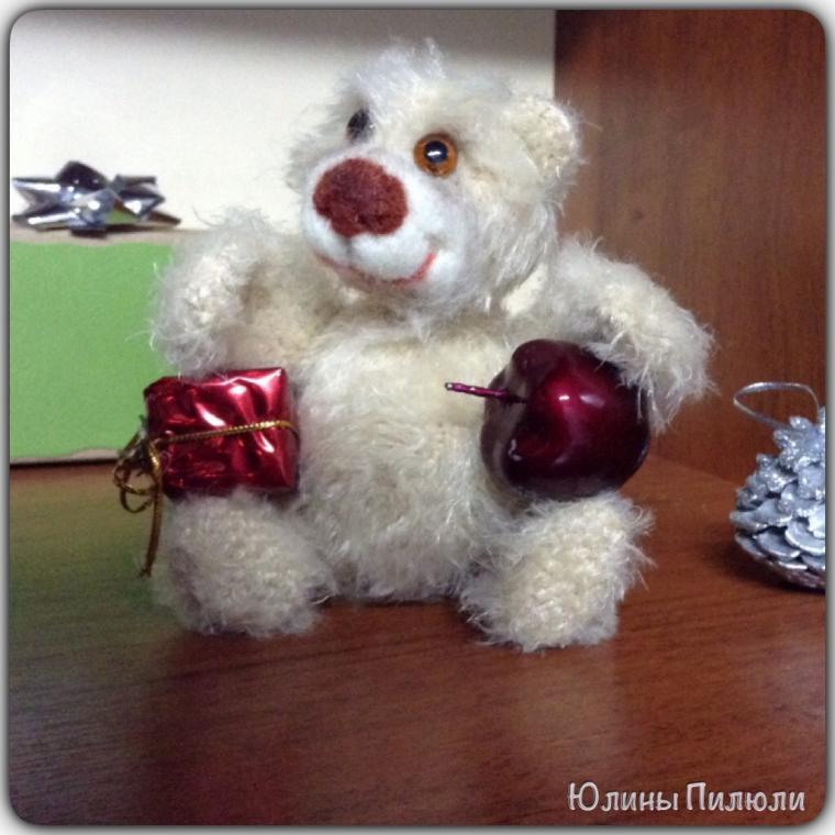 мастер класс, авторский медведь, николенька